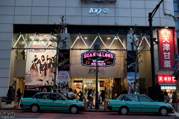 Scandal x Shibuya 109 Mens