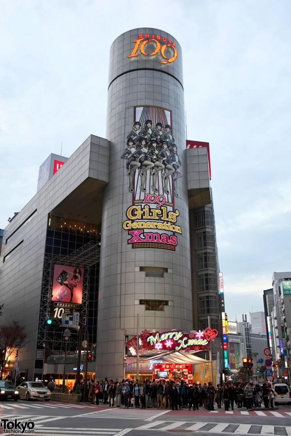 Shibuya 109 x Girls Generation