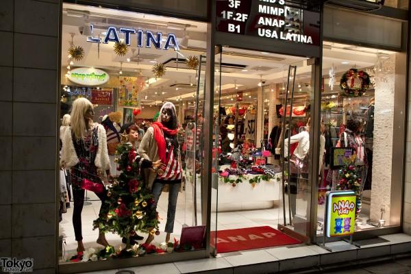 Anap Shibuya Christmas