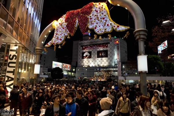 Shibuya Christmas Pictures 2010