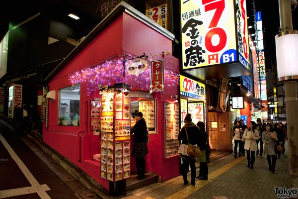 Shibuya Crepes