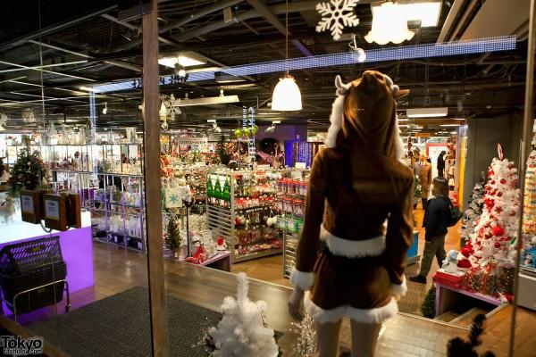 Shibuya Christmas Cosplay