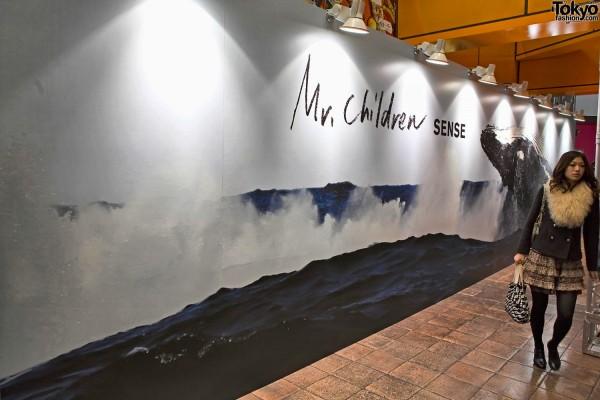 Mr. Children at Tower Shibuya