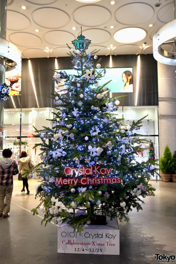 Crystal Kay Christmas Tree