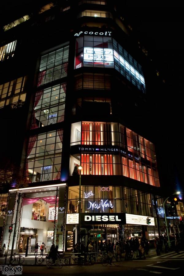 Diesel Shibuya