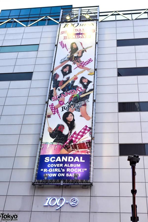 Scandal x Shibuya 109-2