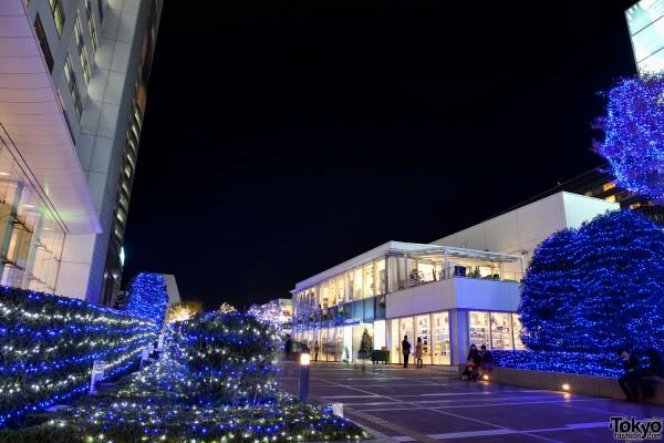 Shinjuku Southern Terrace Christmas Lights