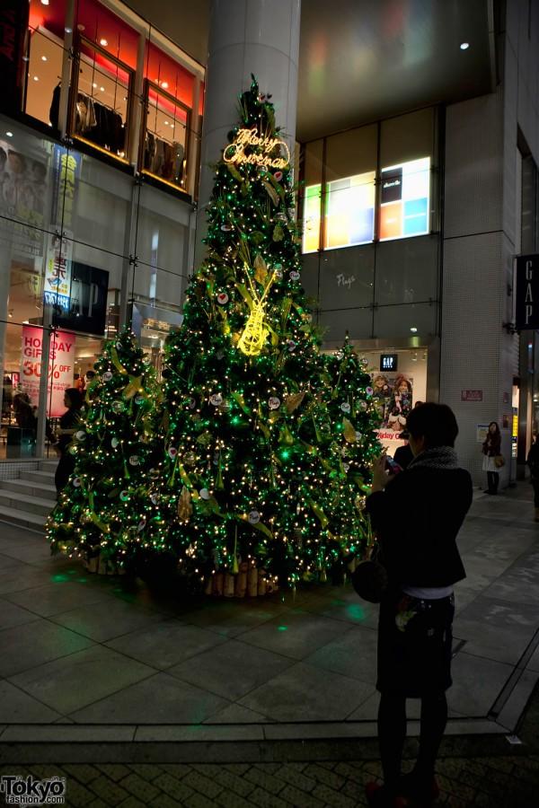 Shinjuku Christmas Tree