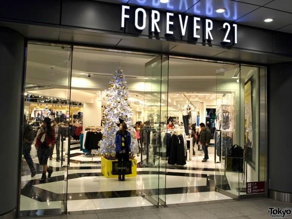Forever 21 Shinjuku