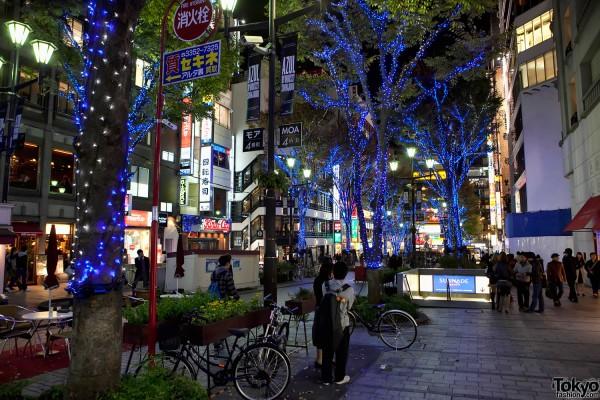Shinjuku Christmas Lights