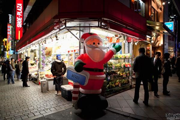 Santa in Shinjuku