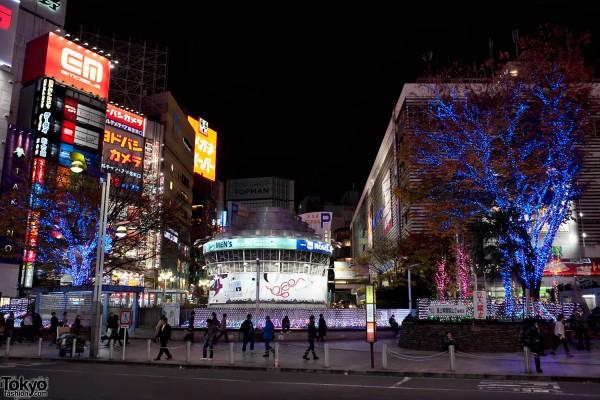 Shinjuku Station Christmas