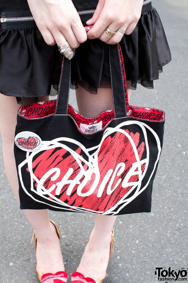CHOICE by Vivienne Westwood Red Label Handbag