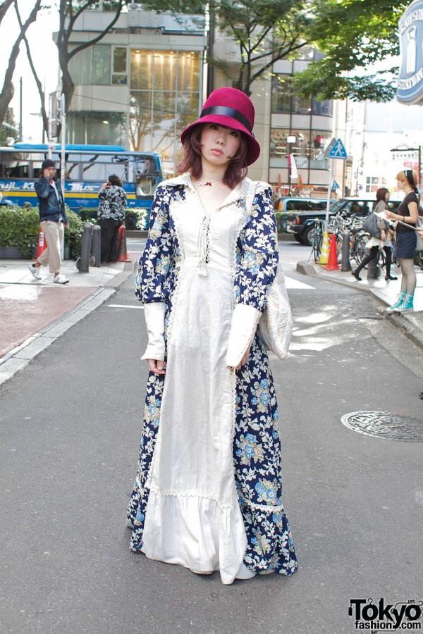 Fashion Student in Gunne Sax & Tokyo Bopper