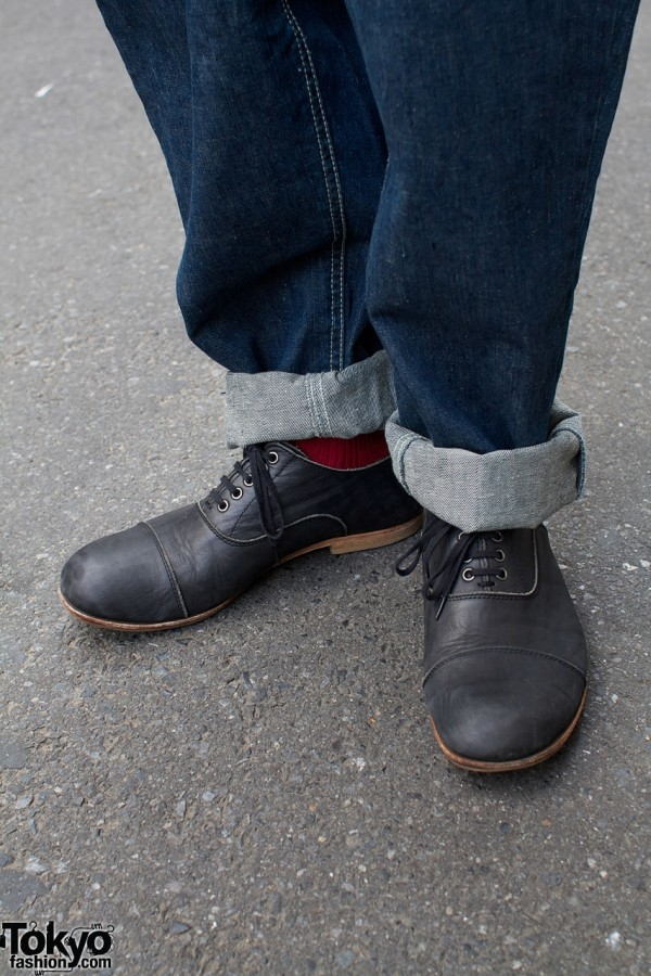 Y's oxford-style shoes