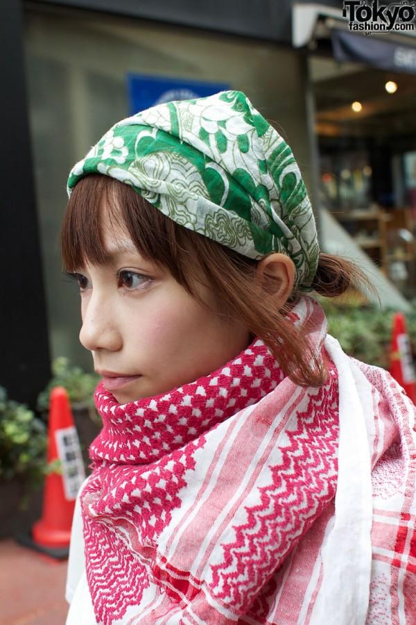 Head scarf & shawl