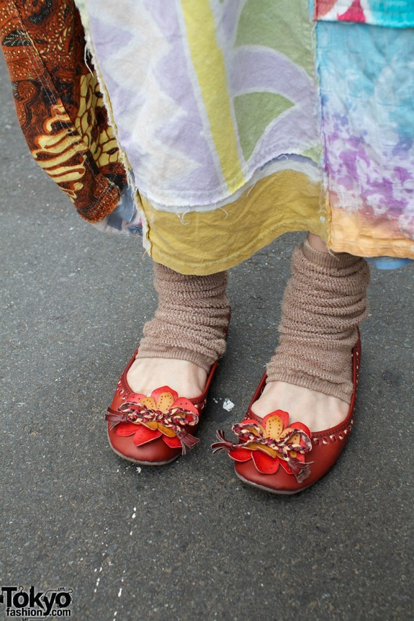 Mare mare shoes & leg warmers
