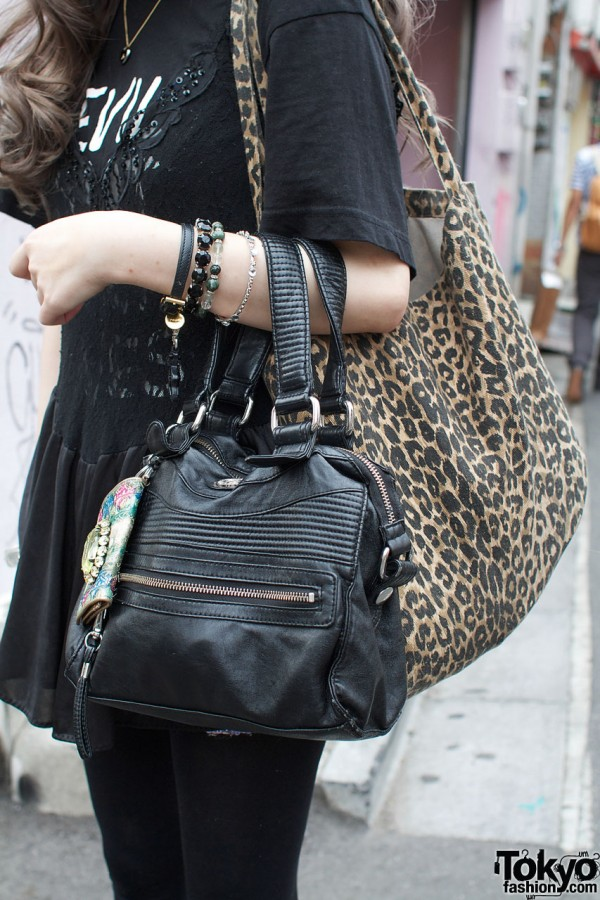 Diesel purse & cheetah print shoulder bag