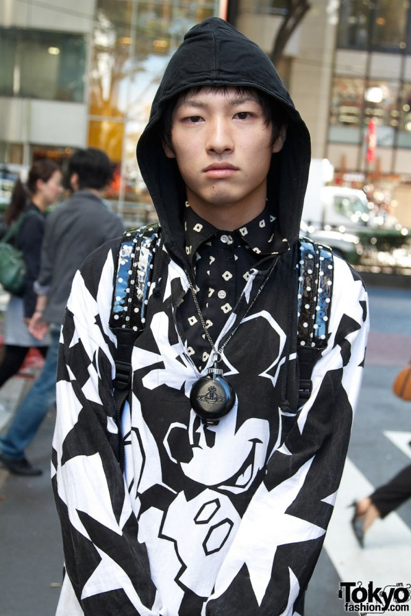 Hooded Mickey Mouse top from Dog