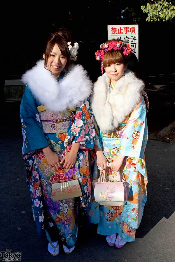 Kimono Girls in Harajuku
