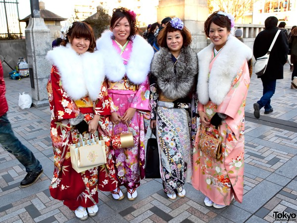 Coming of Age Day 2011 – Tokyo Kimono Pictures