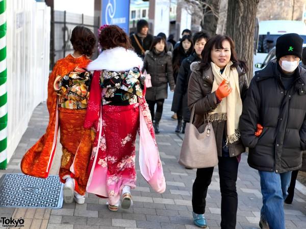 Coming of Age Day Harajuku