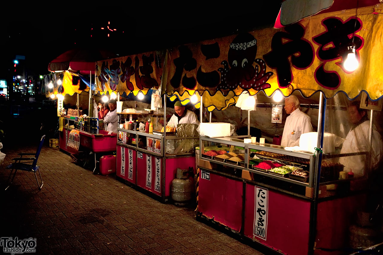 Street Food Stands In Tokyo Tokyo Fashion News