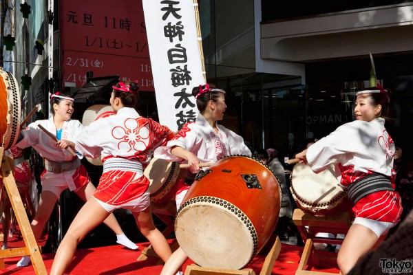 LaForet Harajuku Taiko Drumming