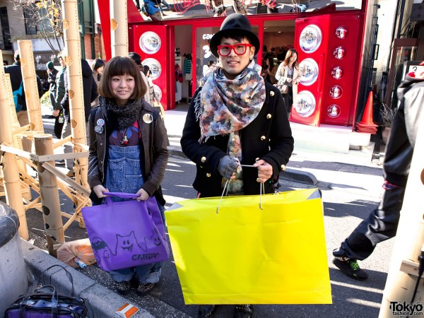 Cute Harajuku Shoppers