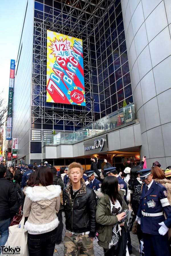 7 Days Bargain at Shibuya 109