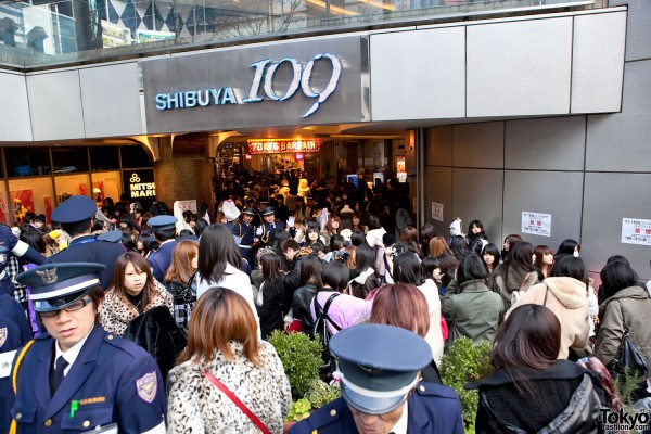 Shibuya 109 New Year Sale