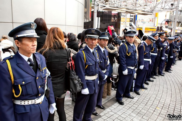 Shibuya 109 Sale Security