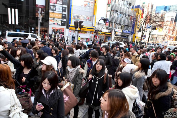 Shibuya 109 Fukubukuro Crowds