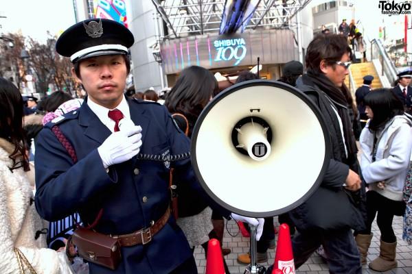 Shibuya 109 Security