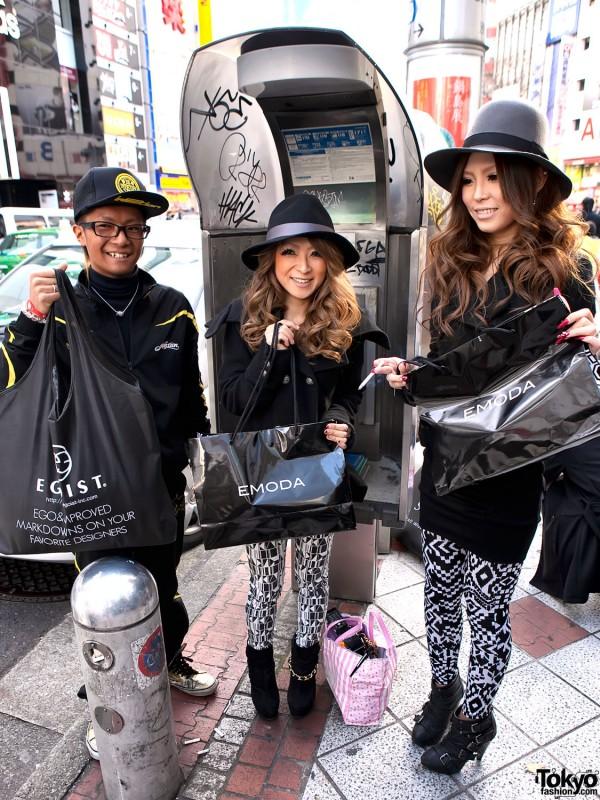 Emoda vs. Egoist Shibuya Shoppers