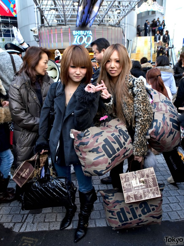 D.I.A Fukubukuro Girls in Shibuya