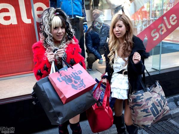 TutuHA Loving Girls in Shibuya