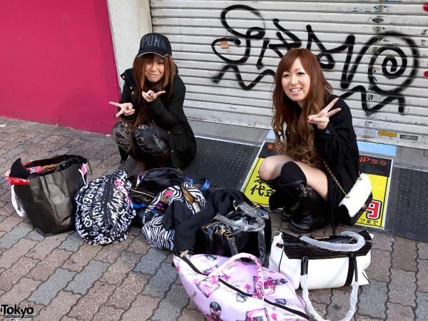 Shibuya New Year's Shoppers