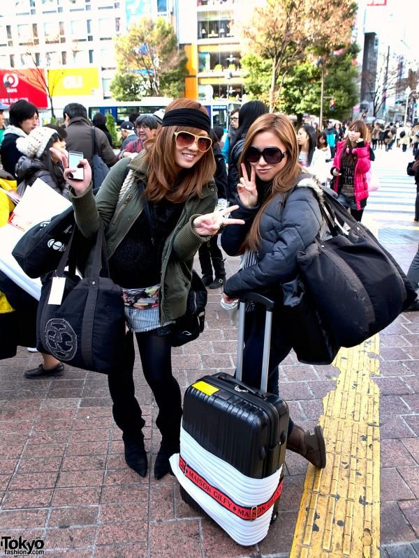 Cute Shibuya Fukubukuro Girls