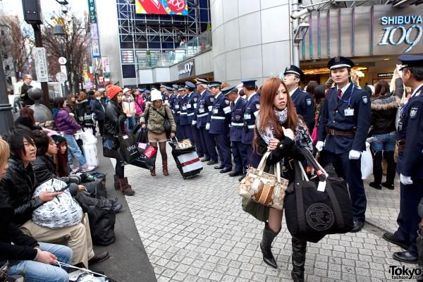 Shibuya 109 Sale Madness