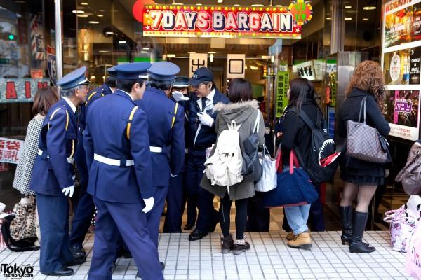 Shibuya 109 New Year Sale 2011