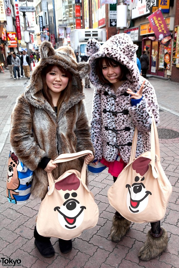 WC Fukubukuro Girls in Shibuya