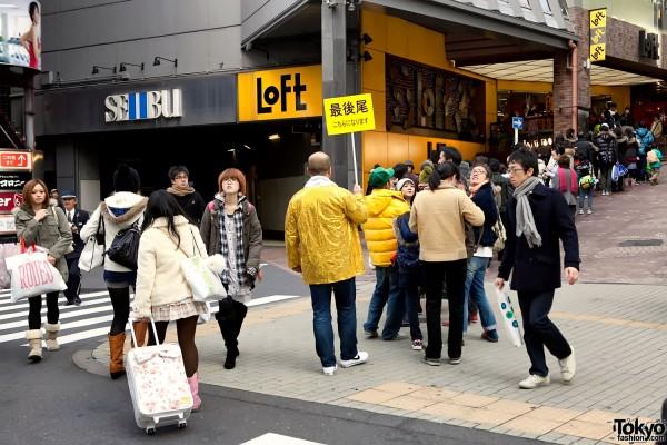 Loft Shibuya New Years Sale