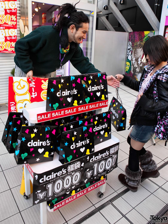Claire's Takeshita Dori
