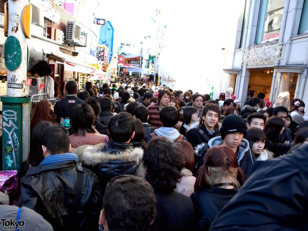 Takeshita Dori New Years Sales