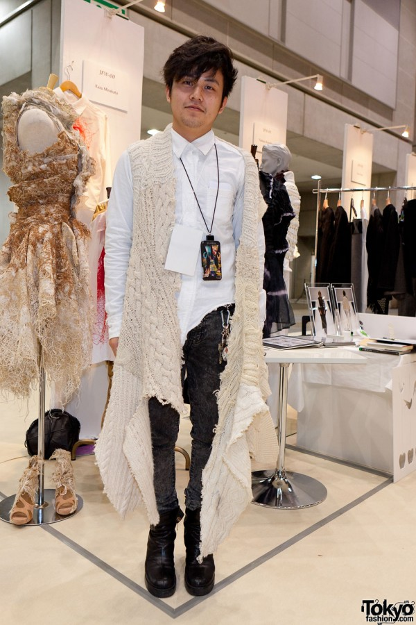 Fashion Designer Kazu Minakata Tokyo Fashion News