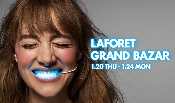 LaForet Grand Bazar Geee Face