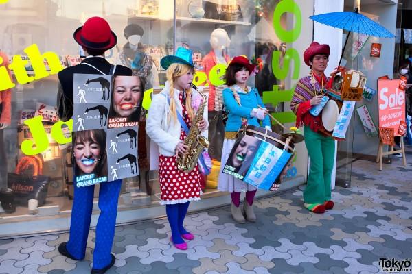 LaForet Harajuku Band