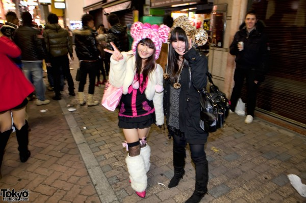 New Years Eve in Shibuya