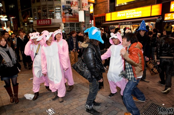 Year of the Rabbit in Tokyo